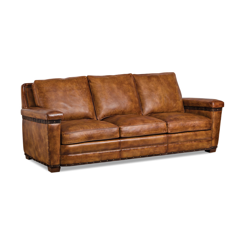Hancock And Moore 5918 3 Sofa Collection Belting Sofa Discount Furniture At Hickory Park