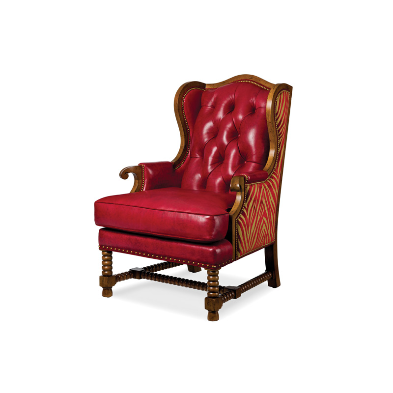 Hancock and Moore 5624 T Brock Tufted Chair Discount