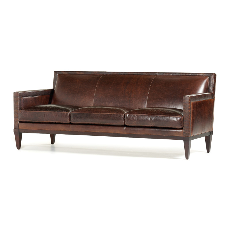 Hancock And Moore 4957 Ellie Sofa Discount Furniture At