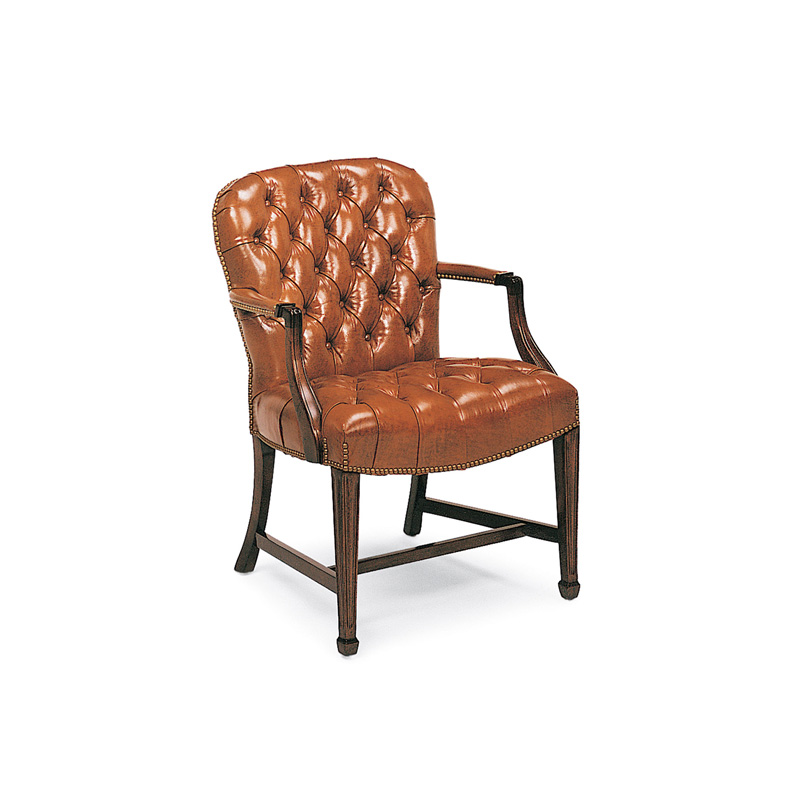 Hancock and Moore 8316 Geor own Tufted Side Chair