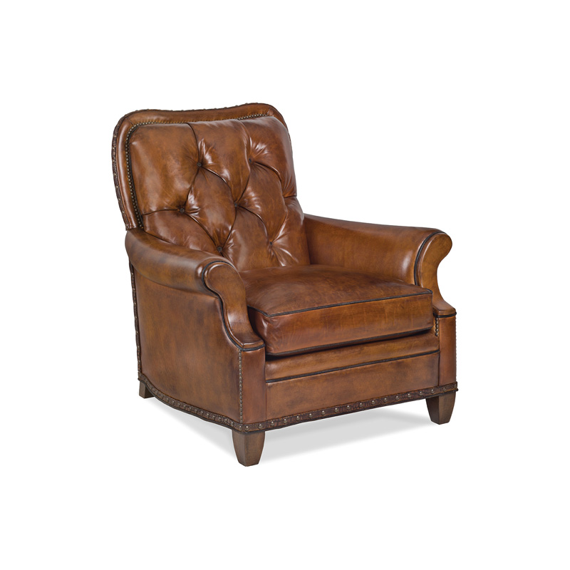 Hancock And Moore Tufted Leather Sofa: Hancock And Moore 6046-1-T Harvest Tufted Chair Discount