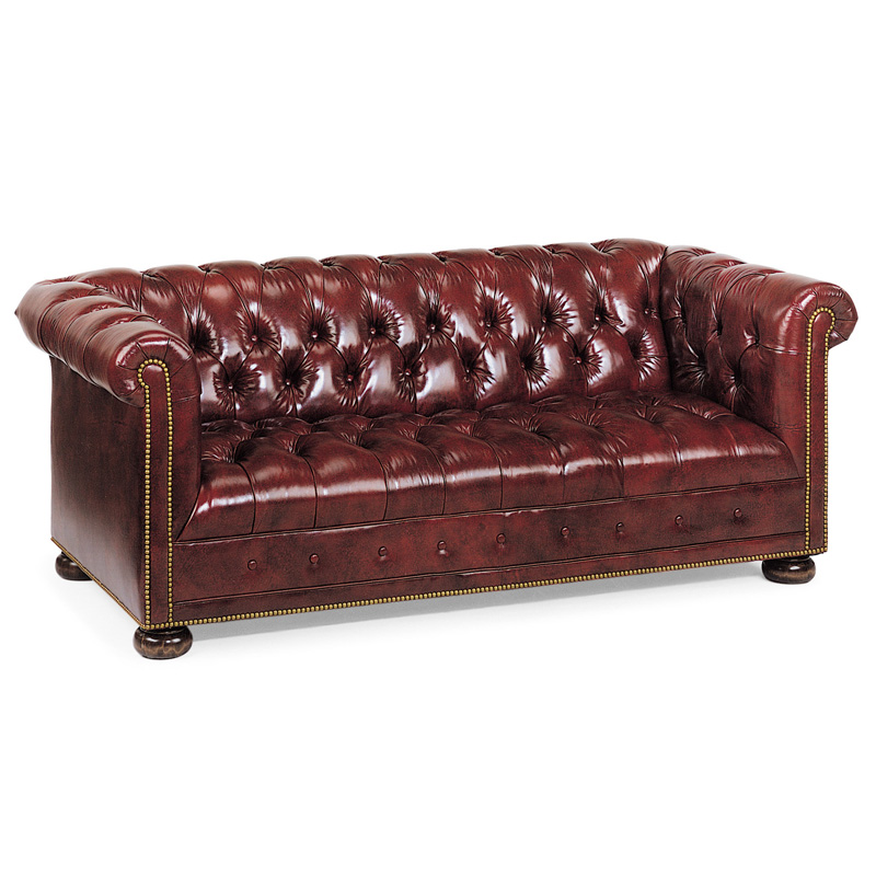 Hancock And Moore 8876 77 Kent Chesterfield Sofa Discount
