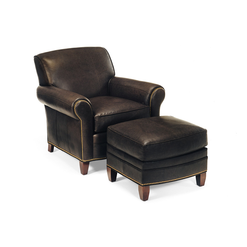 Hancock And Moore 1296 1295 Meadows Chair Ottoman