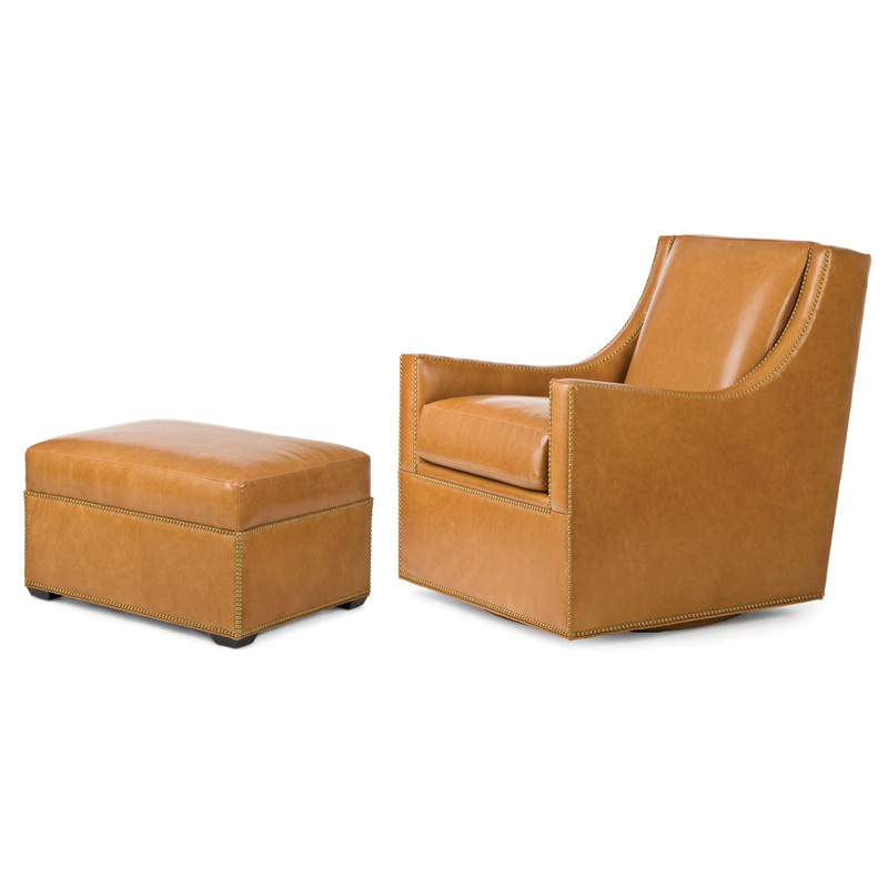 Hancock And Moore 5253s 5252 Rosemont Swivel Chair