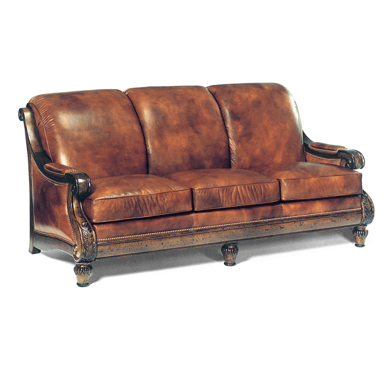 Hancock And Moore Tufted Leather Sofa: Hancock And Moore 1442 Somerset Sofa Discount Furniture At