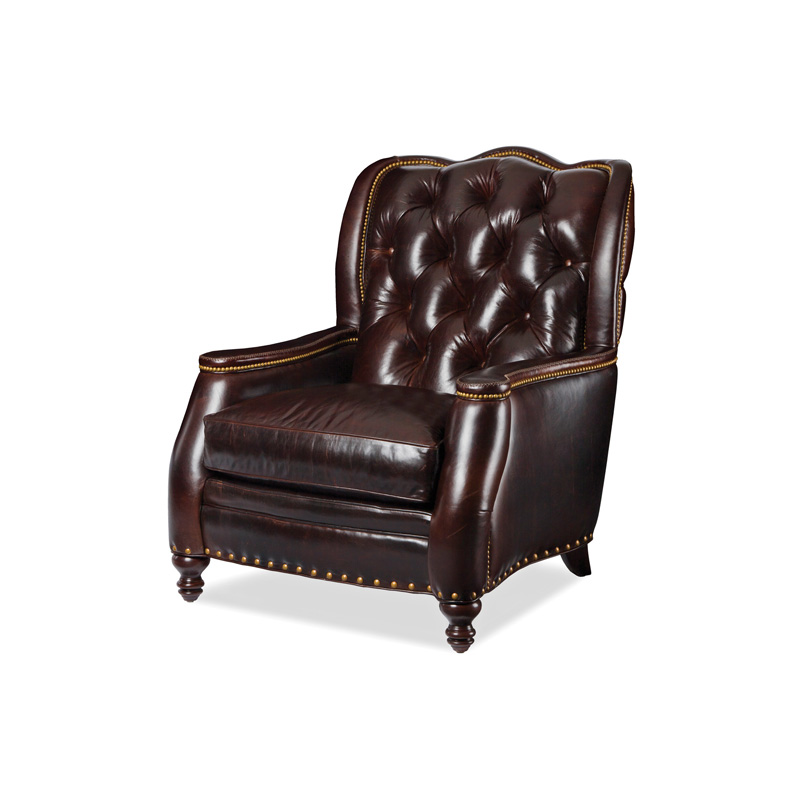 Bassett Furniture Utah: Hancock And Moore 5773 Utah Tufted Chair Discount
