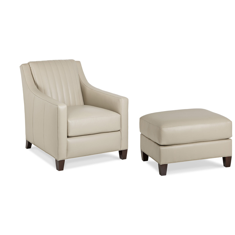 Hancock And Moore 6044 1 Quin Chair And Ottoman Discount
