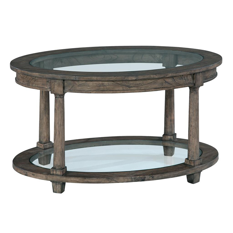 Hekman 2 3505 Lincoln Park Oval Coffee Table Discount