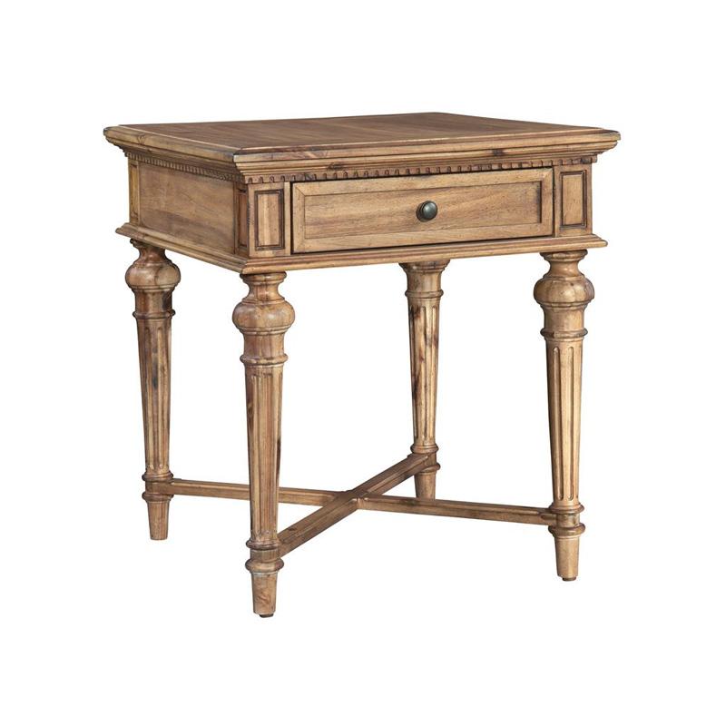 Hekman 2 3304 Wellington Hall End Table Discount Furniture