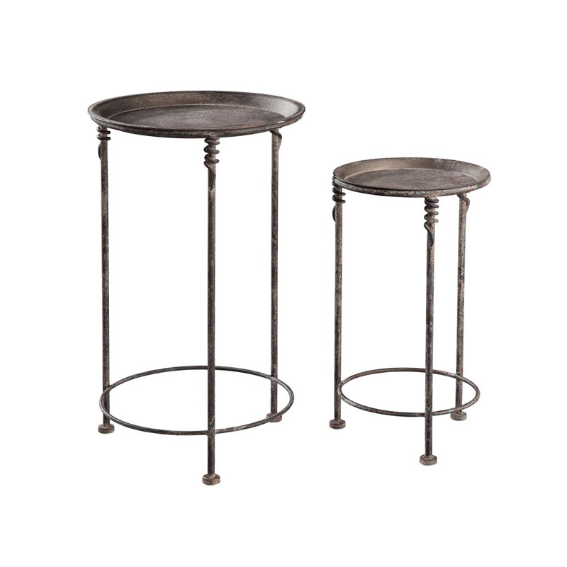 Hekman 2 7698 Accents And Occasional Metal Garden Tables Discount Furniture At Hickory Park