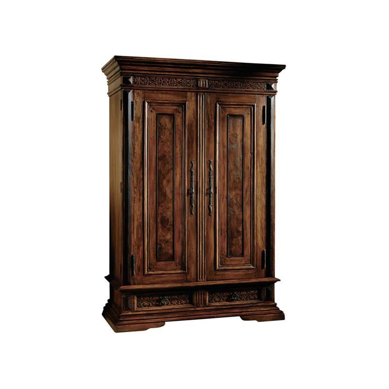 Hekman 7 4503 Castilian Armoire Discount Furniture At