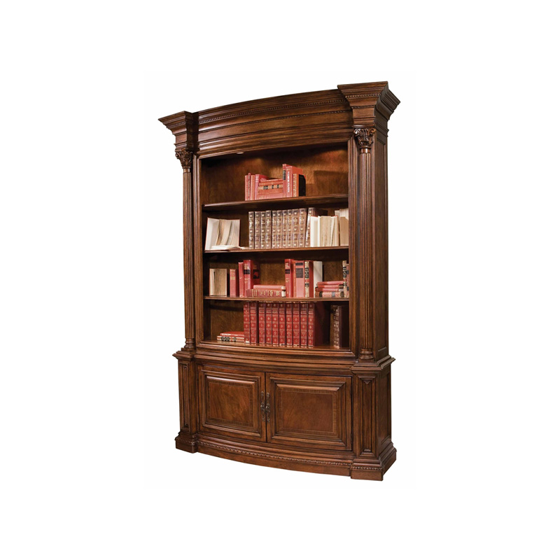 Hekman 1 1345 New Orleans Bookcase Discount Furniture At Hickory Park Furniture Galleries