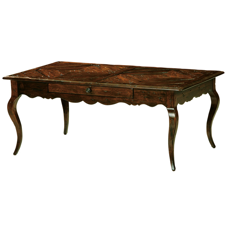 Hekman 8 7202 Rue De Bac Coffee Table Discount Furniture At Hickory Park Furniture Galleries