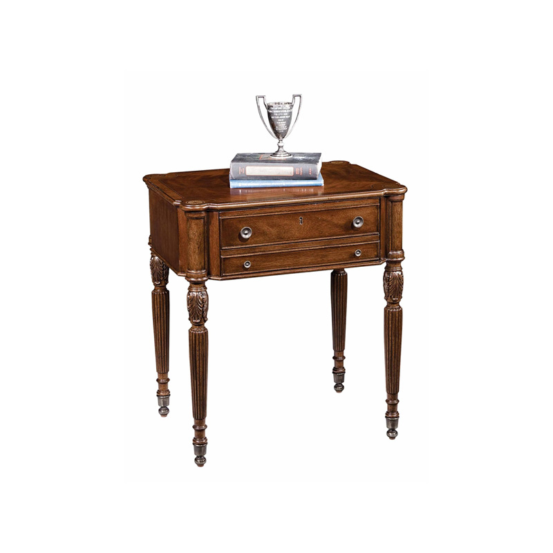 Hekman 1 1305 New Orleans End Table Discount Furniture At Hickory Park Furniture Galleries