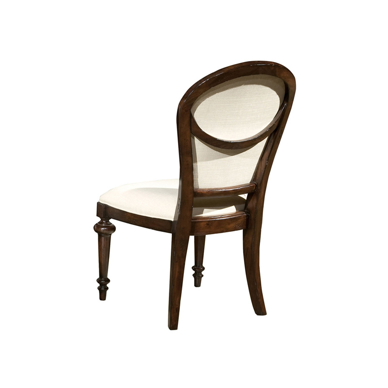 Hekman CP Charleston Place Oval Back Side Chair