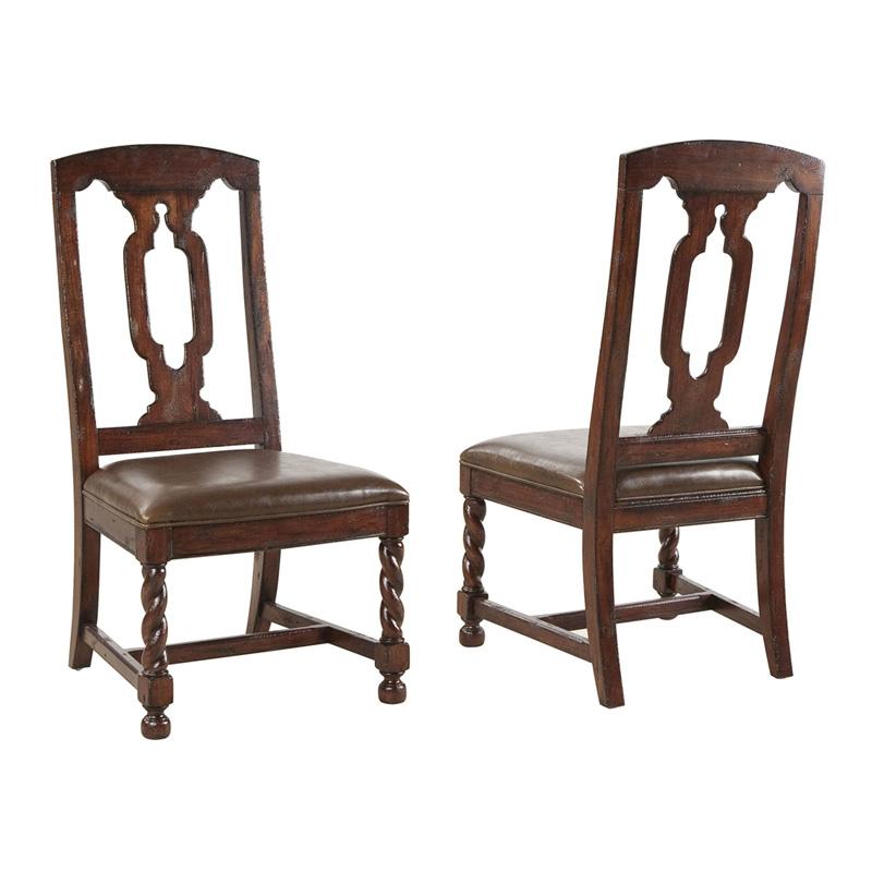 Hekman 8 1234 Havana Side Chair Discount Furniture At