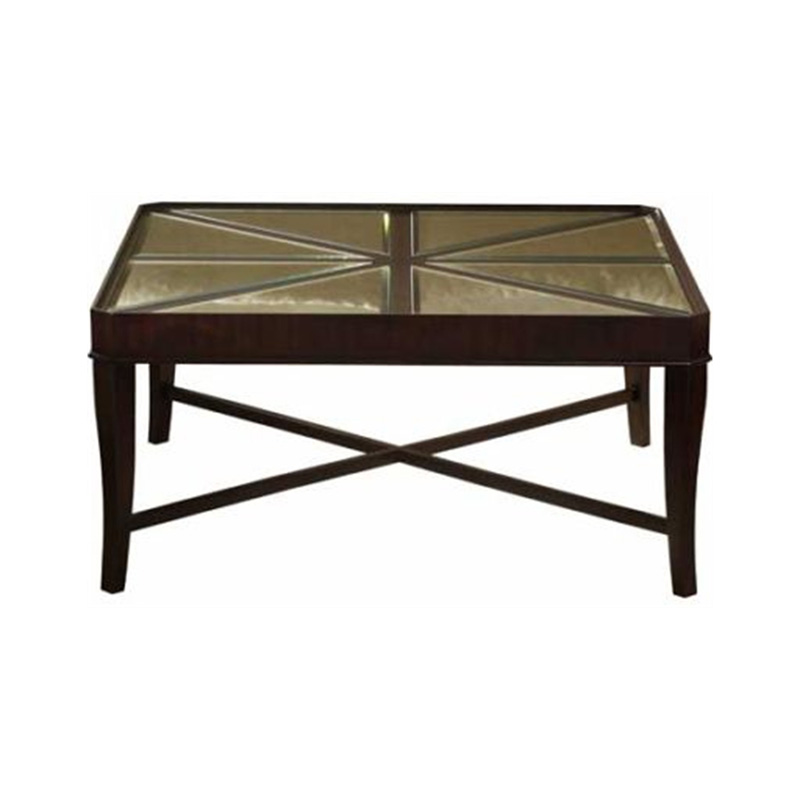 Hekman 7 401 Metropolis Square Coffee Table Discount Furniture At Hickory Park Furniture Galleries