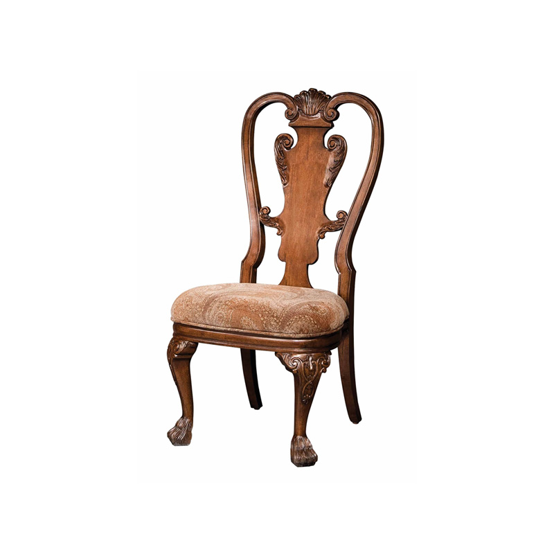 Hekman 1 1326 New Orleans Upholstered Side Chair Discount Furniture At Hickory Park Furniture
