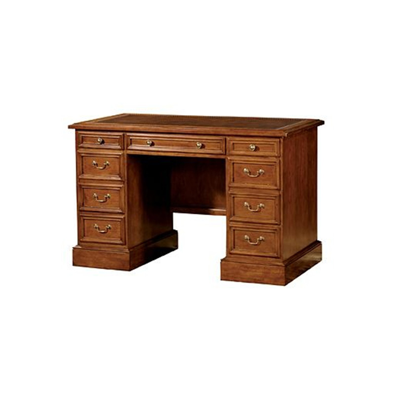 Hekman 7 1260 Writing and Accent Desks Pedestal Desk