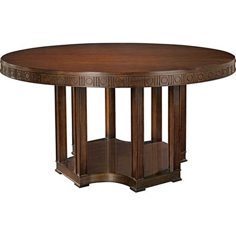 Hickory Chair 1641-10 Suzanne Kasler Arden Dining Table