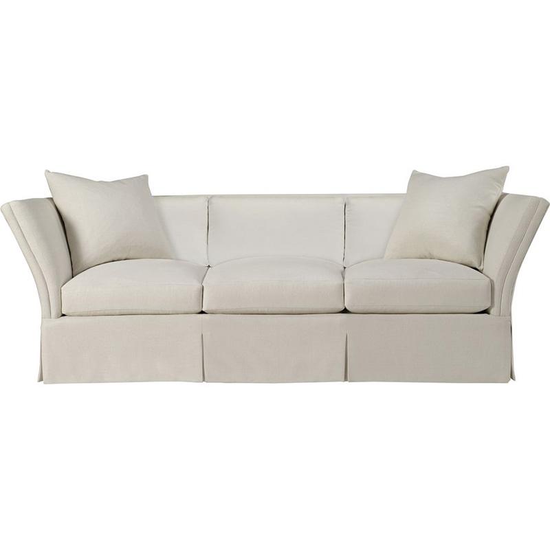 Loose Pillow Back Sofa: Hickory Chair 708-06 Hartwood Pershing Dressmaker Sofa