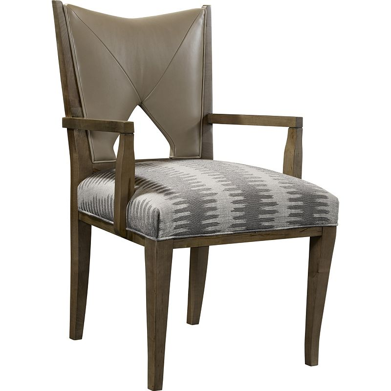 Hickory Chair 8513 01 Hable Wick Arm Chair Discount