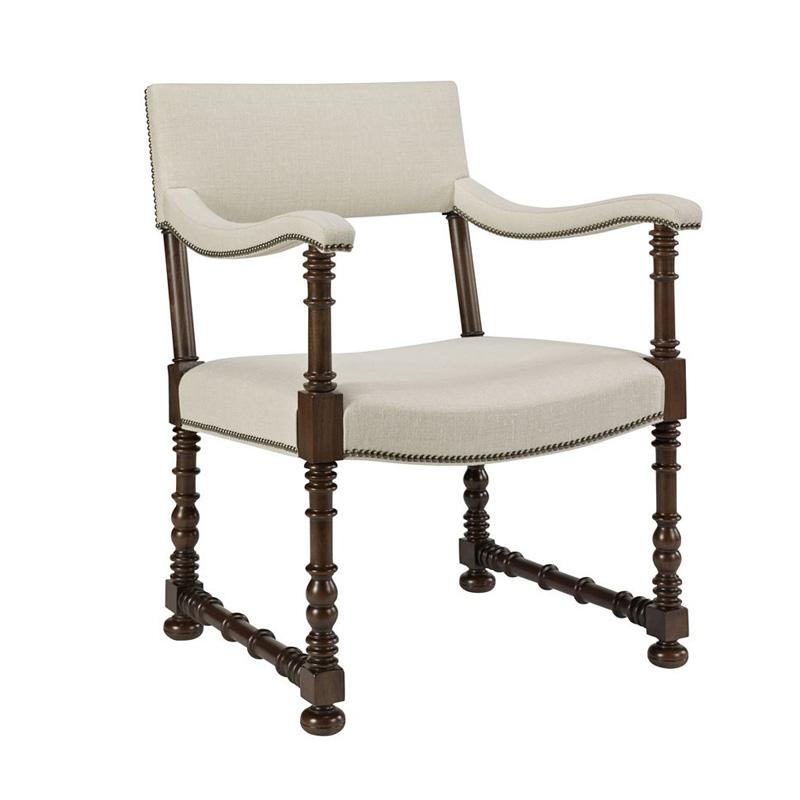 Hickory Chair 709 01 Hartwood Blackstone Arm Chair