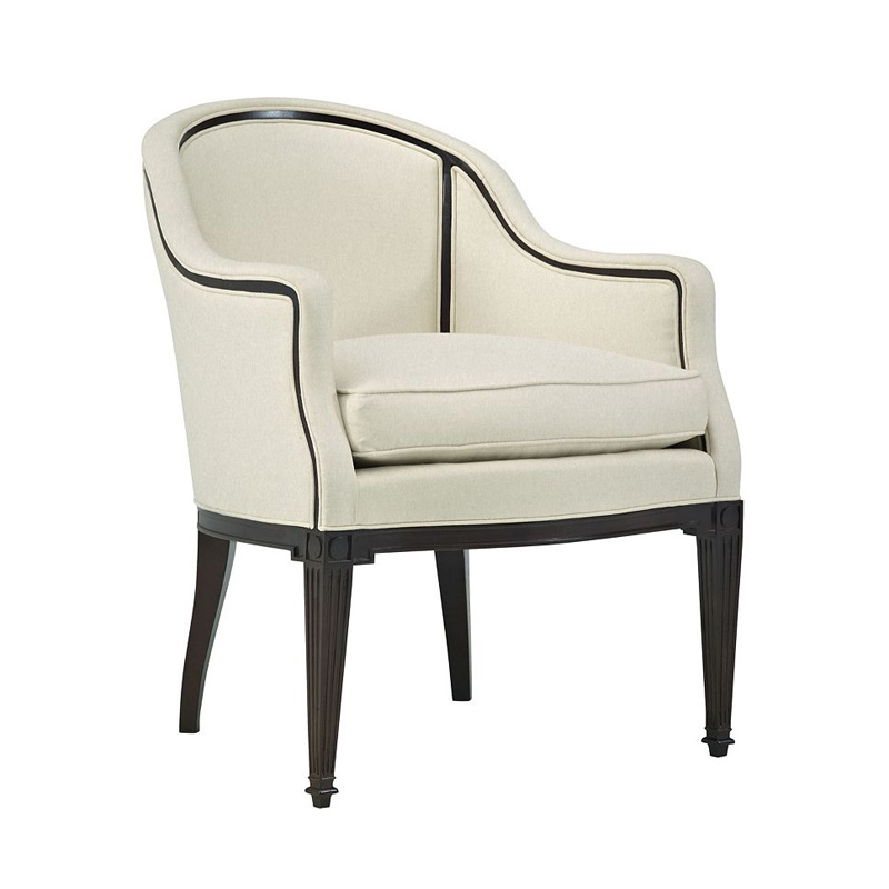 Hickory Chair 711 24 Hartwood Avondale Pull Up Chair