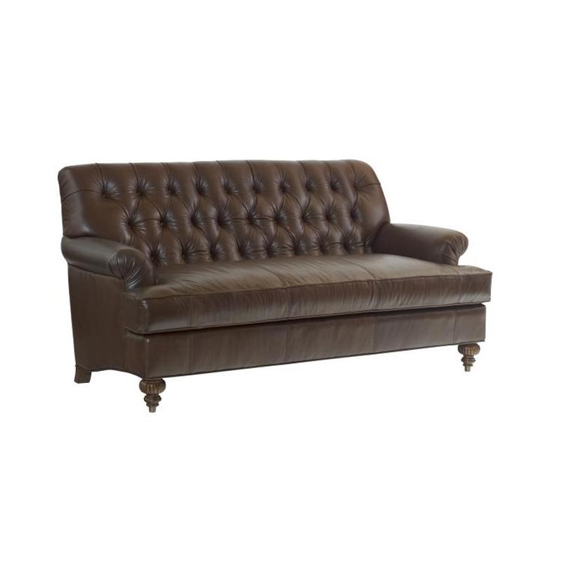 Highland House 1016 84 LE HH Leather Lyle Leather Sofa