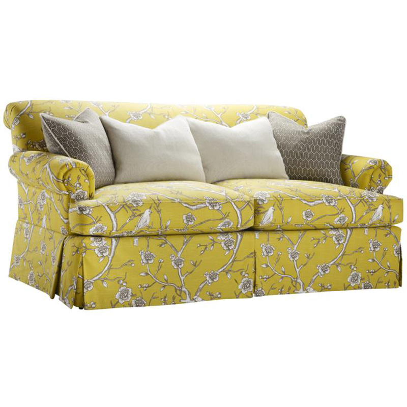 Discount Country Furniture: Highland House 1018-78 French Country Allegro Sofa