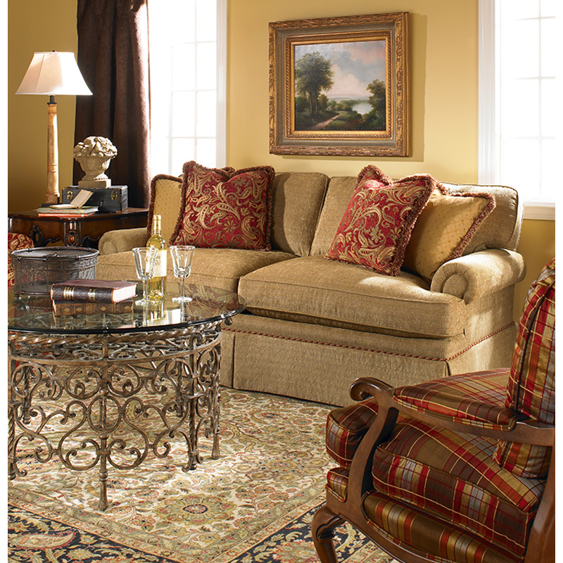 Highland House 2348 61 Designer Classics Styles Sussex Loveseat Discount Furniture At Hickory