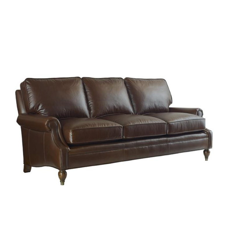 Highland House 4204-79-LE HH Leather Bradford Leather Sofa