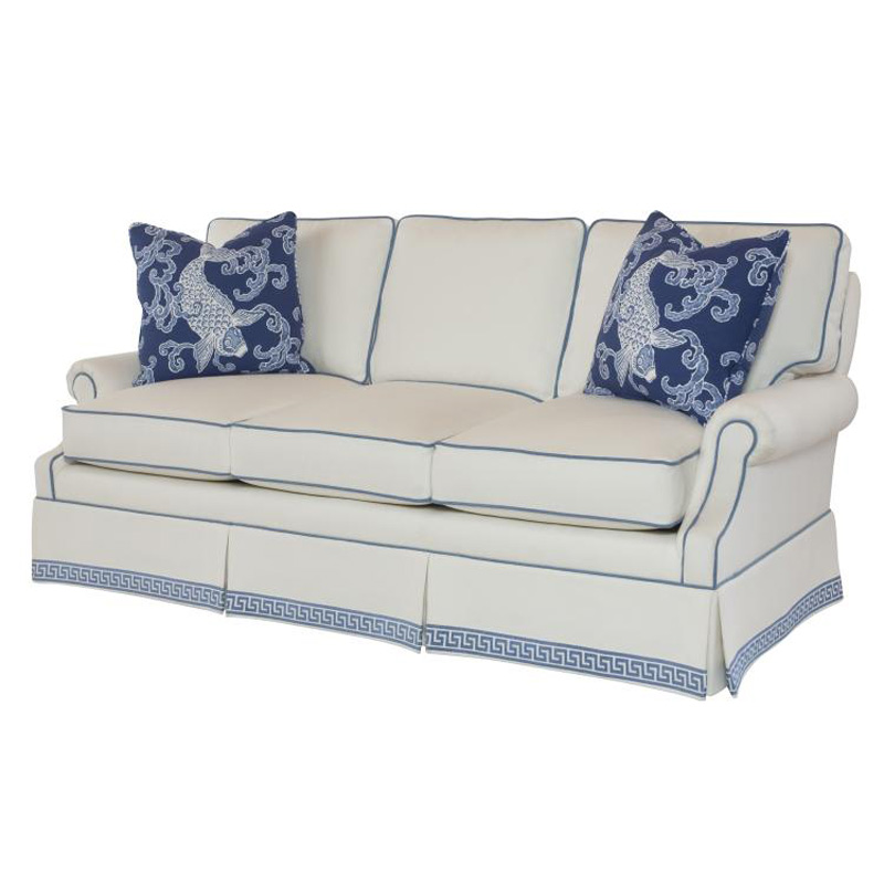 Barclay butera bb8048 82 upholstery collection taylor sofa for Affordable furniture upholstery