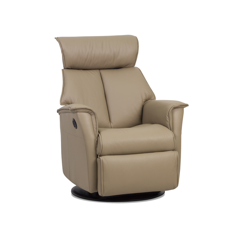 Discount Online Furniture Outlet: IMG RG287 Boss Leather Glider Discount Furniture At