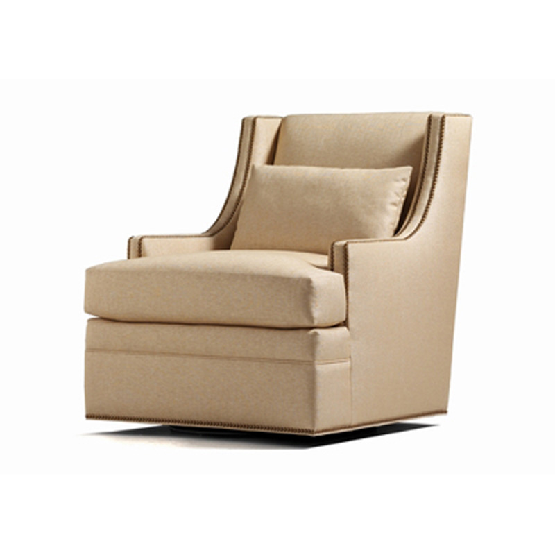 Jessica Charles 5615 S Collin Swivel Chair Discount Furniture At Hickory Park Furniture Galleries