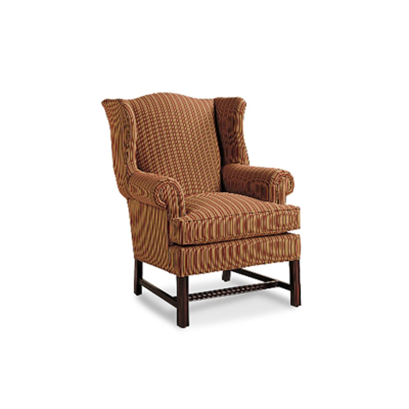 Jessica Charles 608 Jessica Charles Durham Chippendale Wing Chair Discount Furniture At Hickory