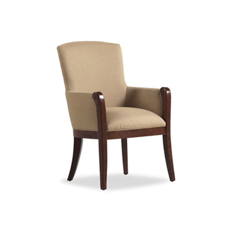 Jessica Charles 938 Mckinney Arm Dining Chair Discount Furniture At Hickory Park Furniture Galleries
