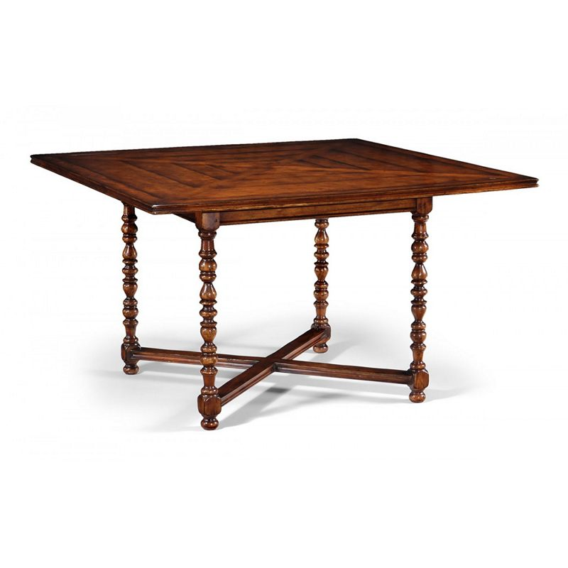 Jonathan Charles 492371 Country Farmhouse Square Dining Table 60 Inch X60 Inc