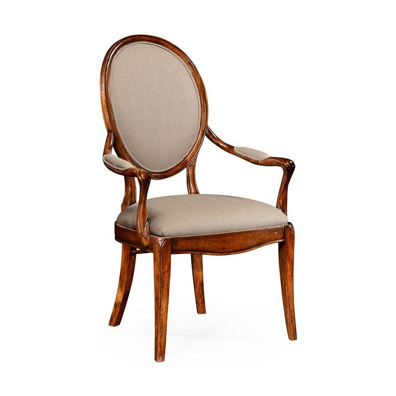 Jonathan Charles Windsor Spoon Back Upholstered