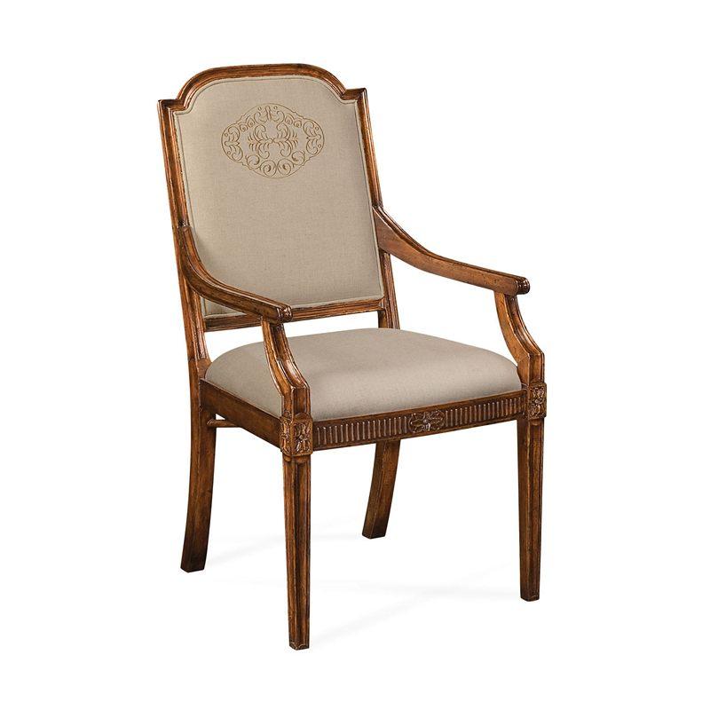 Jonathan Charles Windsor Upholstered Dining Chair