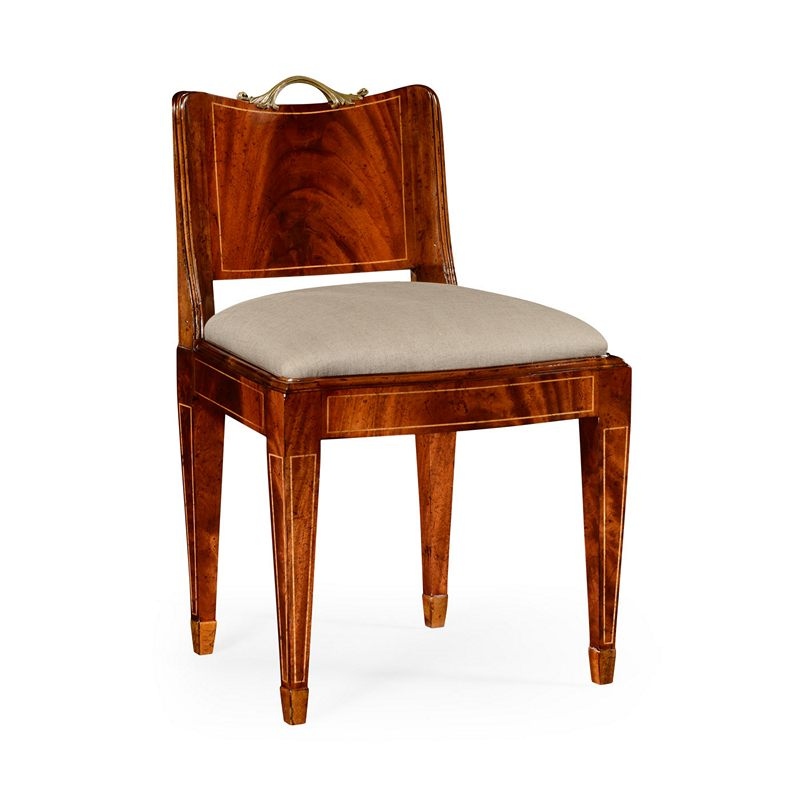 Jonathan Charles Buckingham Low Back Regency Chair