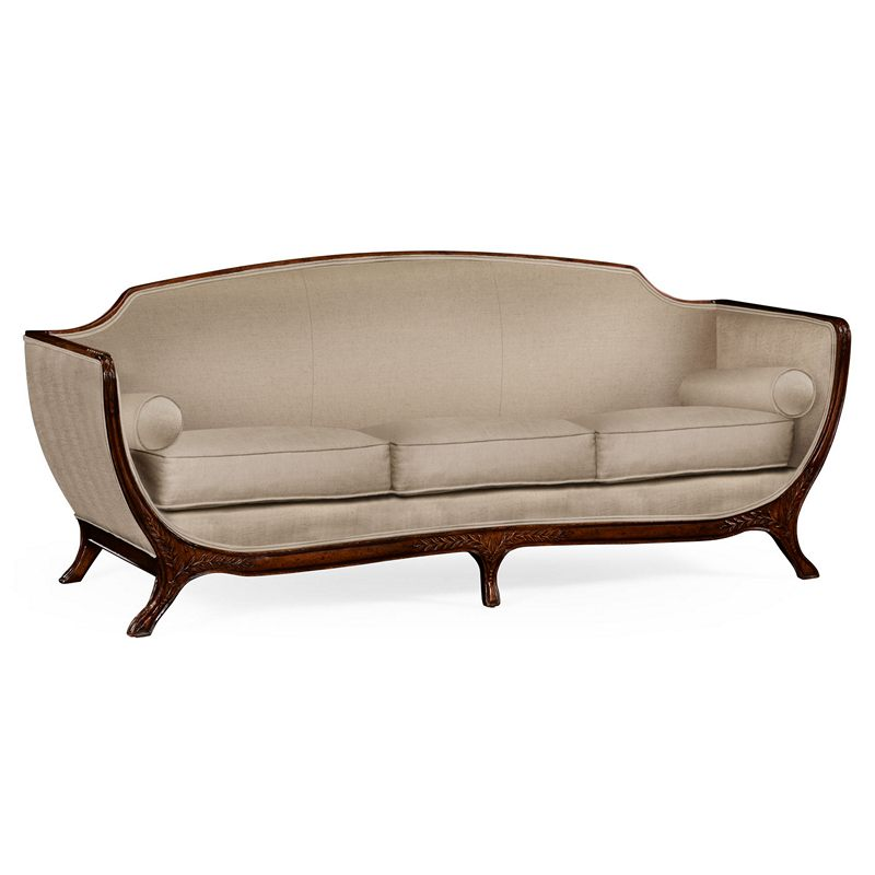 Jonathan Charles 494710 W4 F1 Versailles Empire Style Sofa