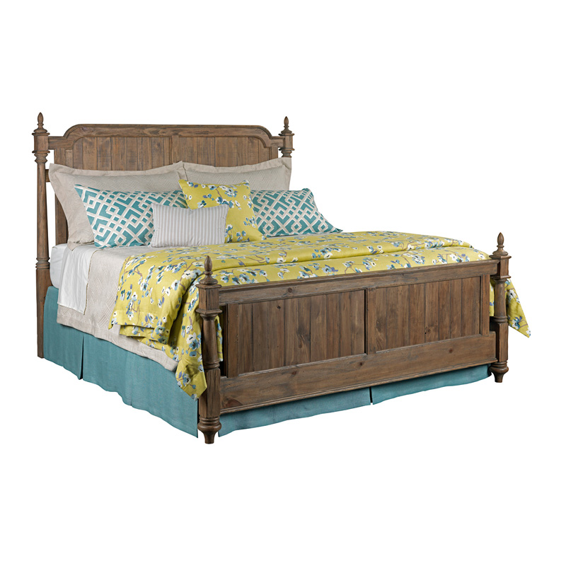 Kincaid 76 136 Weatherford Westland Bed King Heather Discount Furniture At Hickory Park