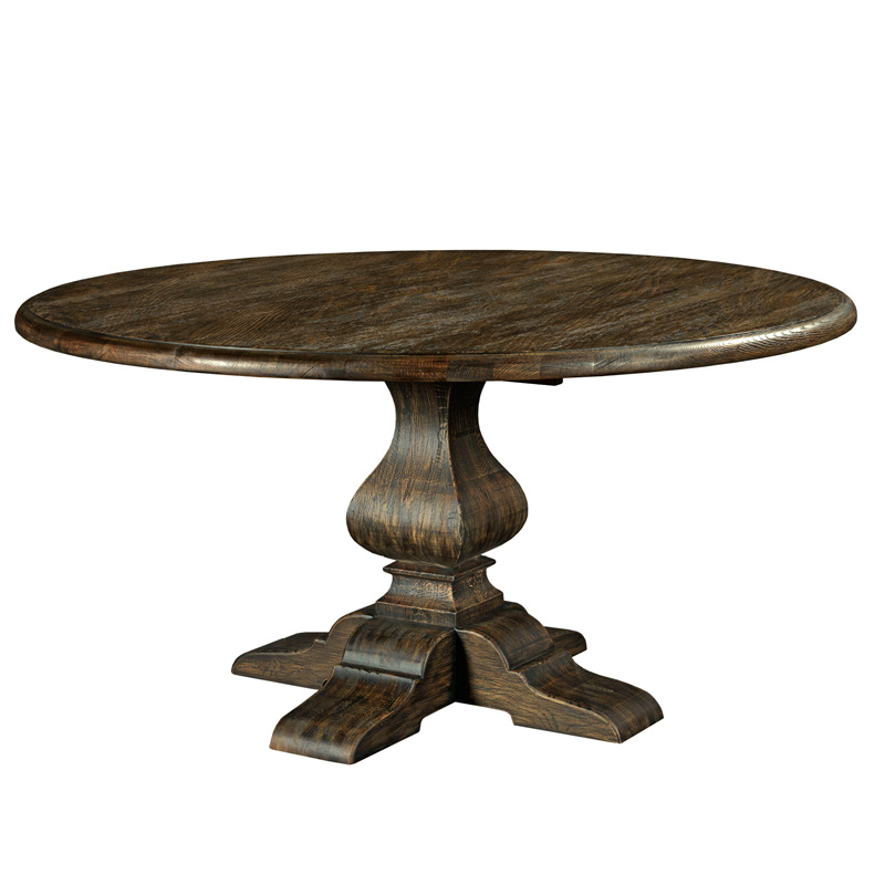 Kincaid 90 4179 artisans shoppe dining 60 inch round for 60 round dining table