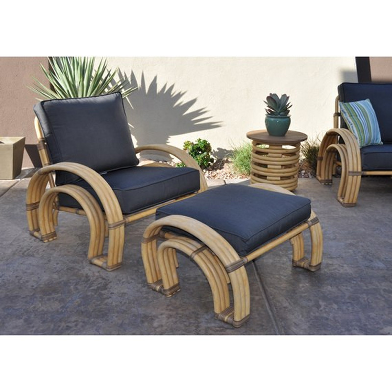 Kingsley Bate Ps10 Palm Springs Ottoman Discount Furniture At Hickory Park Furniture Galleries