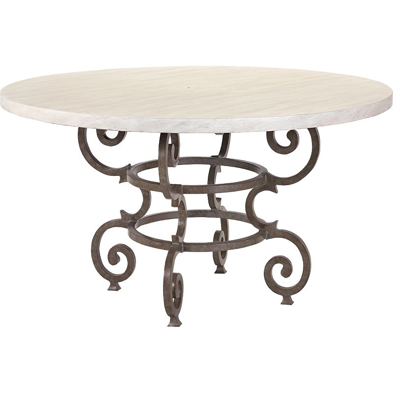 Round dining table 254 sale at hickory park furniture for Table 52 parking