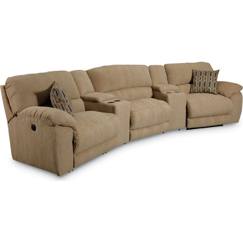 Lane 365 sect rivers theater seating discount furniture at for Furniture 365