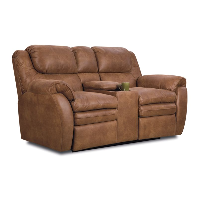 Lane 294 43 Hendrix Double Reclining Console Loveseat With Storage Discount Furniture At Hickory