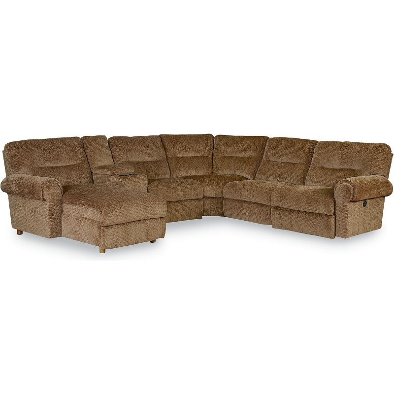 Lane 300 brandon reclining sectional discount furniture at for Affordable furniture brandon