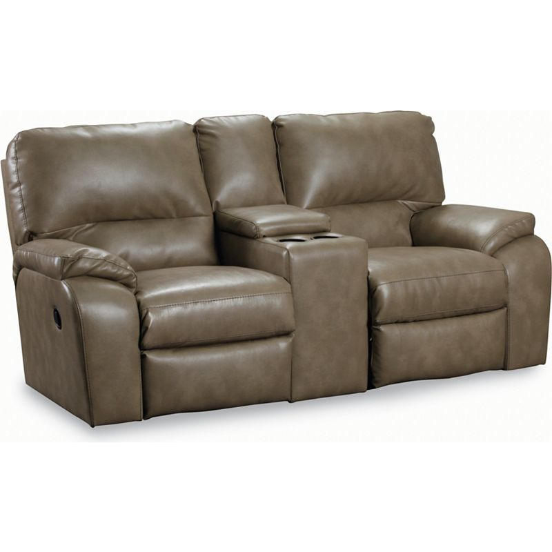 Lane 273 43 Thad Double Reclining Console Loveseat With Storage Discount Furniture At Hickory